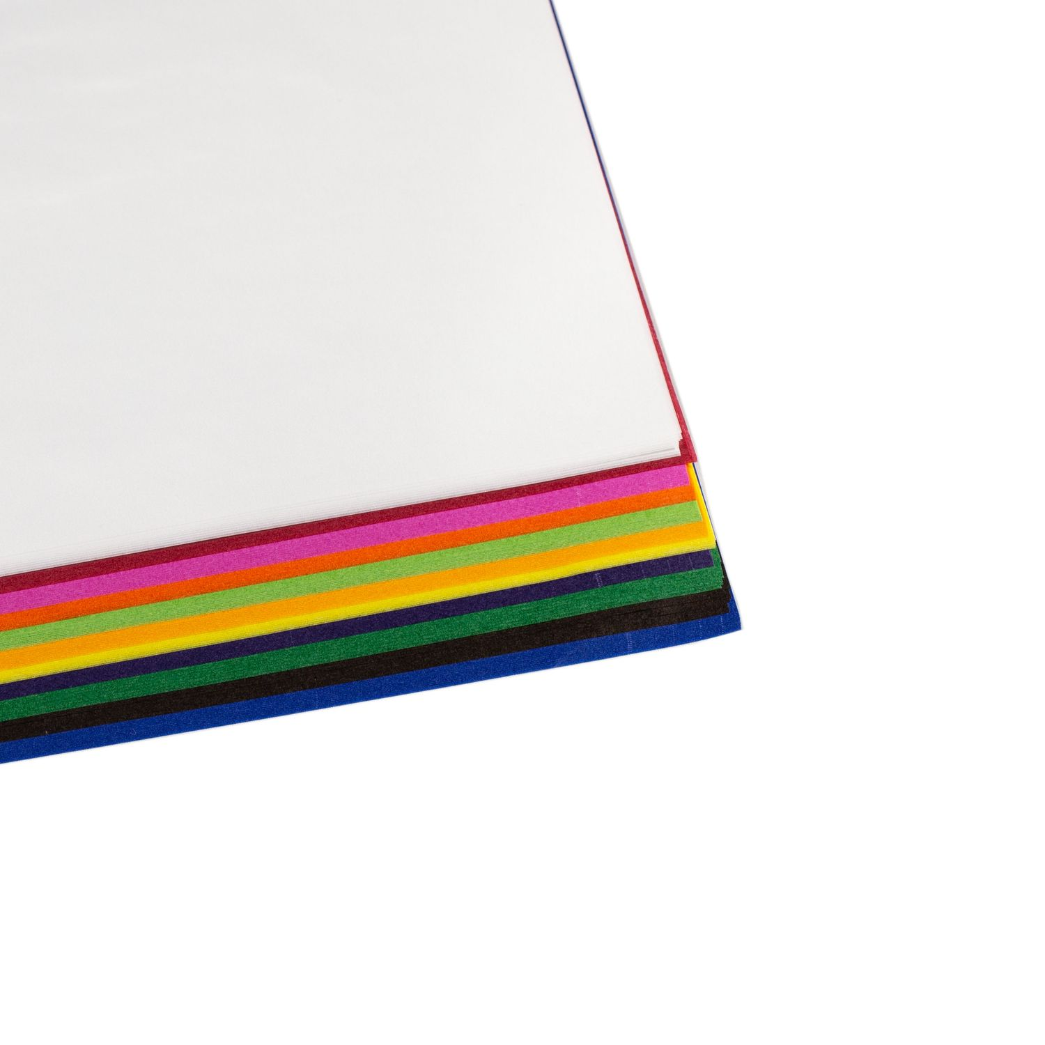 100 Sheets of Kite Paper 50 x 70 cm in 11 Colours