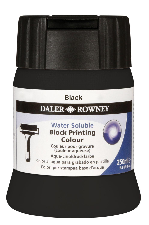 Ink for Linocut Printing Black