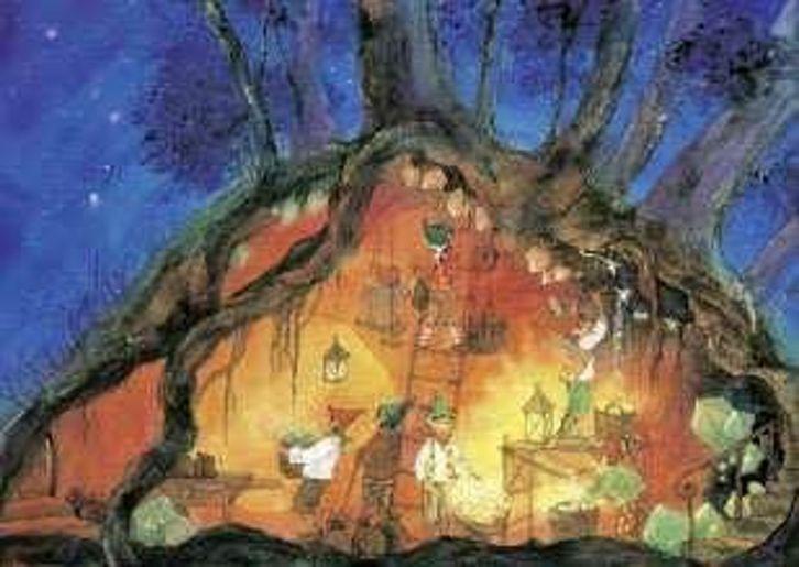 Postkarte: Schätze der Erde