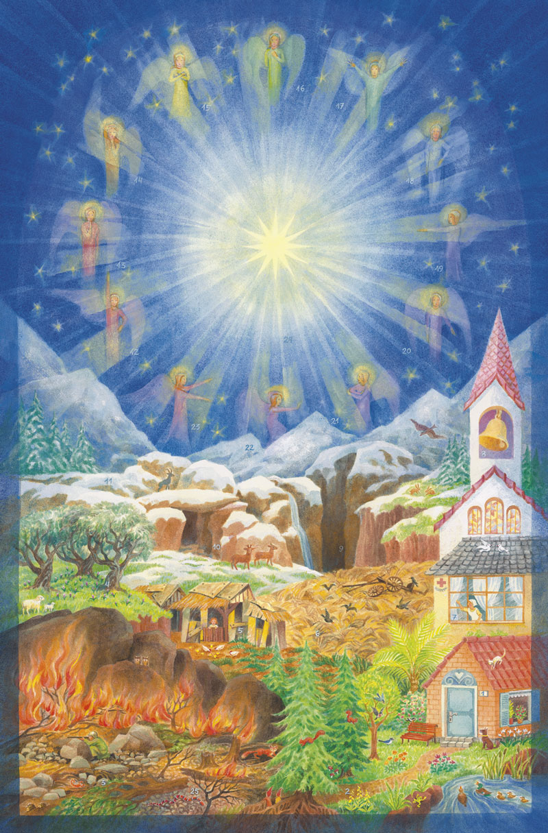 Adventskalender: Der Soldat und die 12 Himmelstore