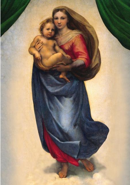 Poster Madonna by Raffael