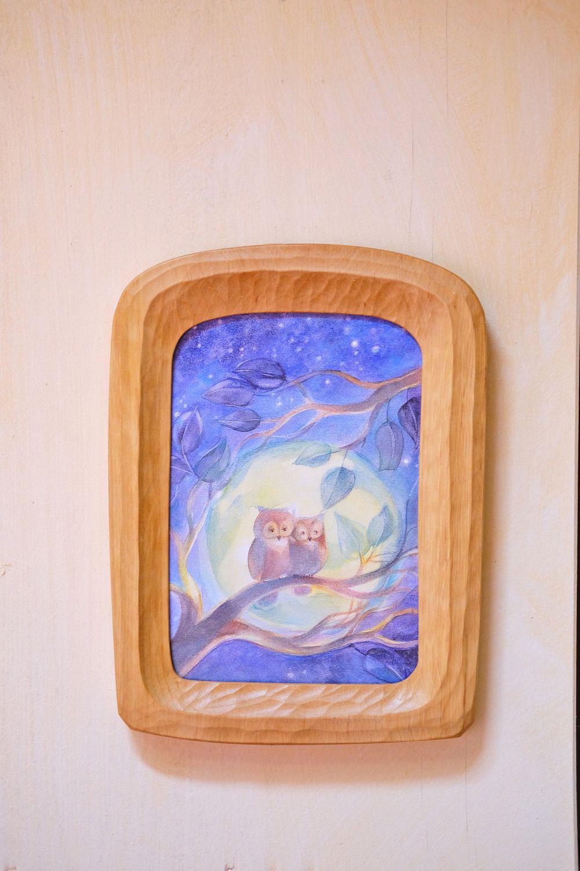 Hand-made Wooden Frame A5
