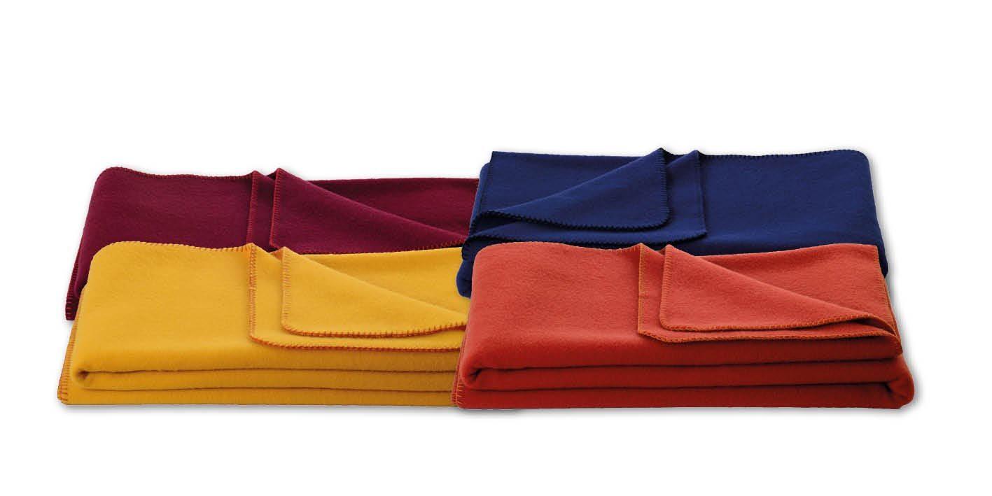 Virgin Wool Blanket 75 x 100 cm