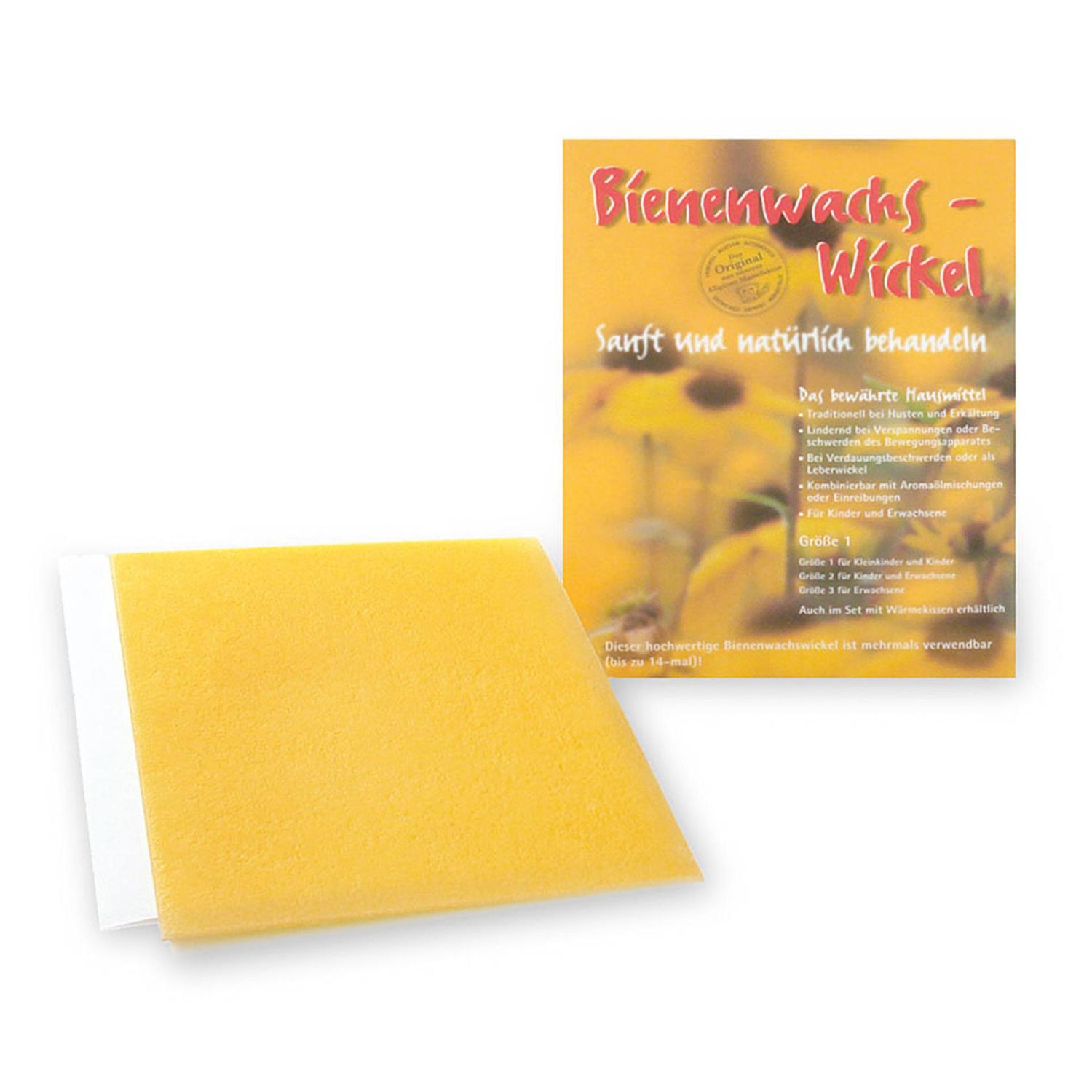 Beeswax Wrap for Warmth and Relief