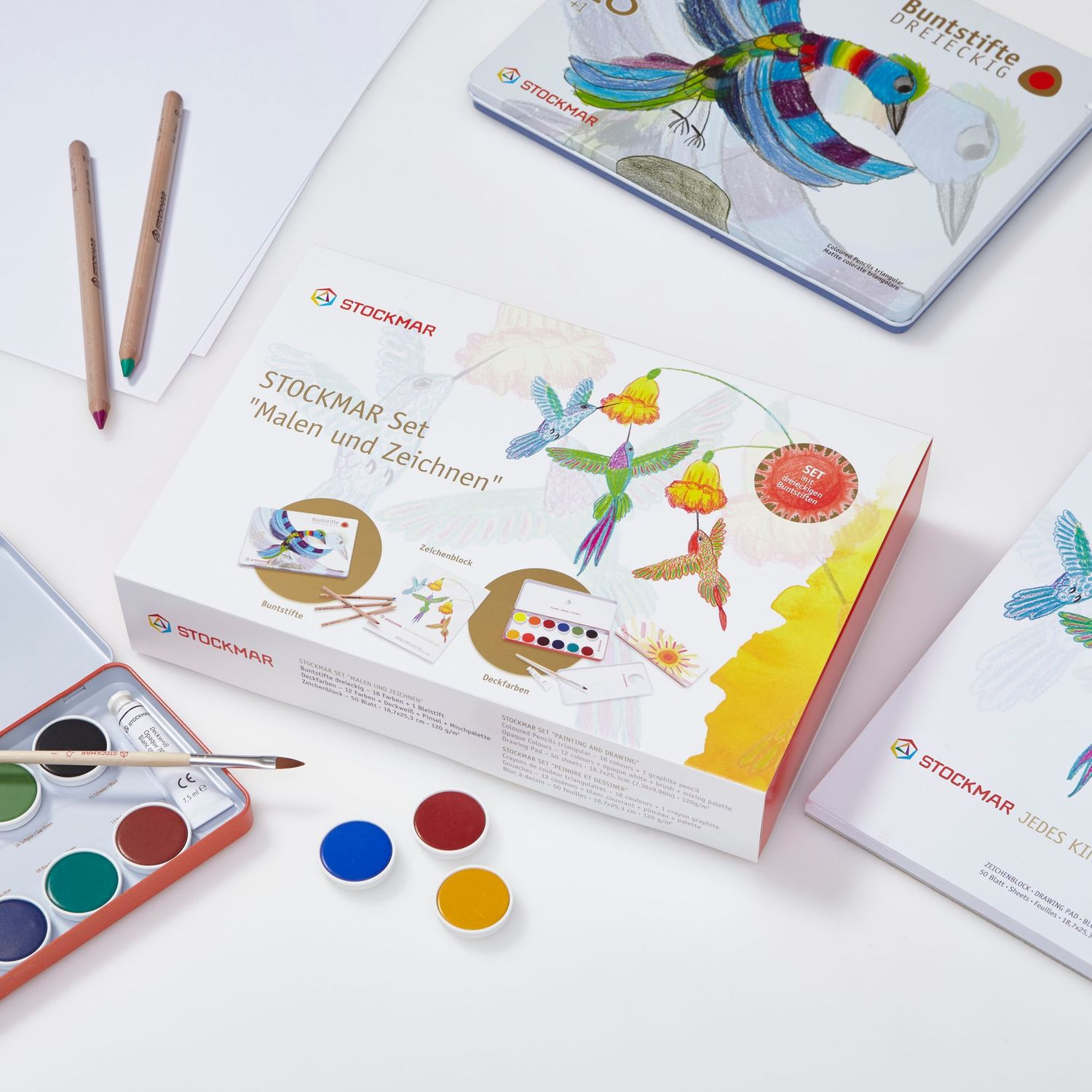 Stockmar Gift Set Painting and Drawing