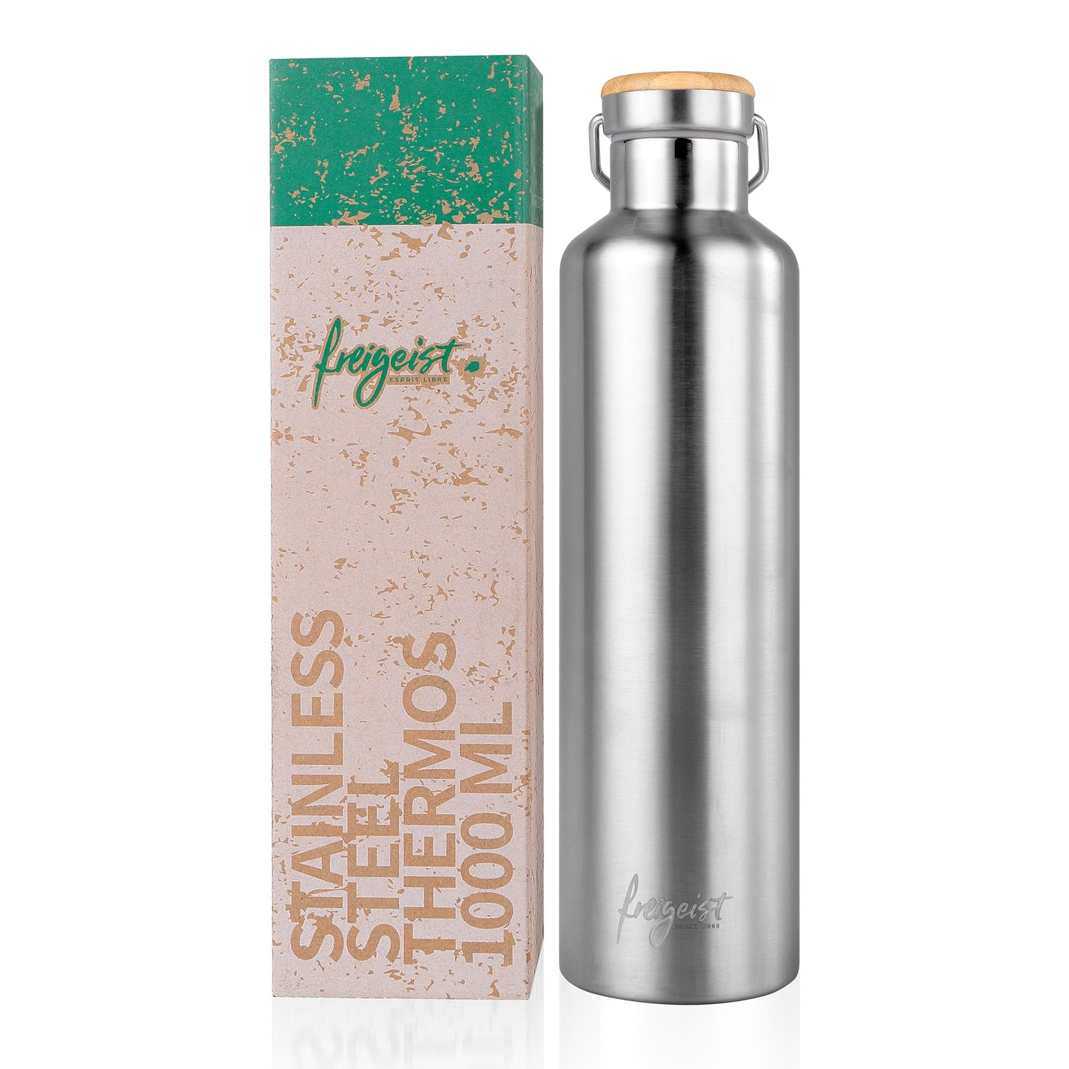 Stainless Steel Thermos Flask 1 l