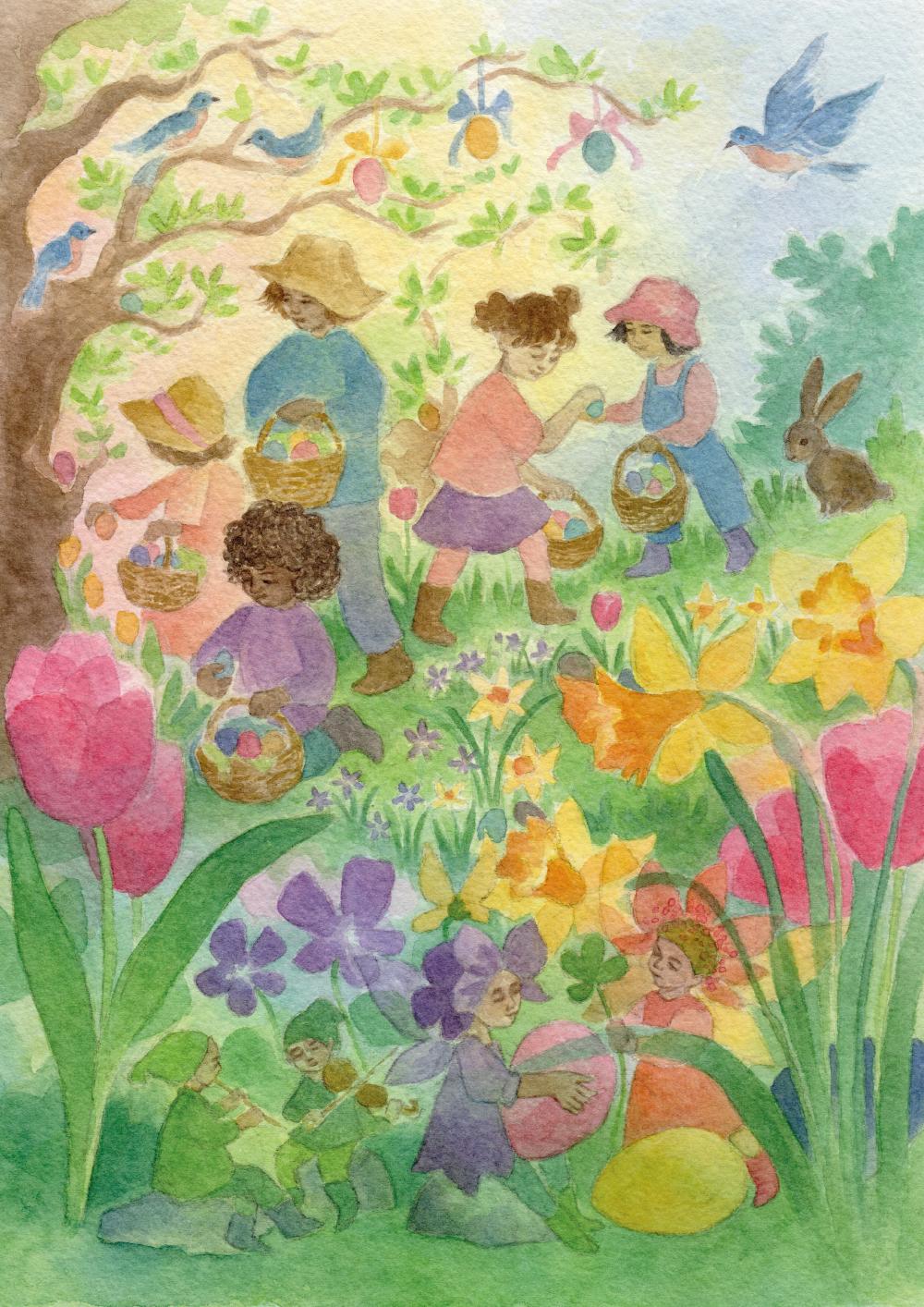 Kunstdruck: Ostern