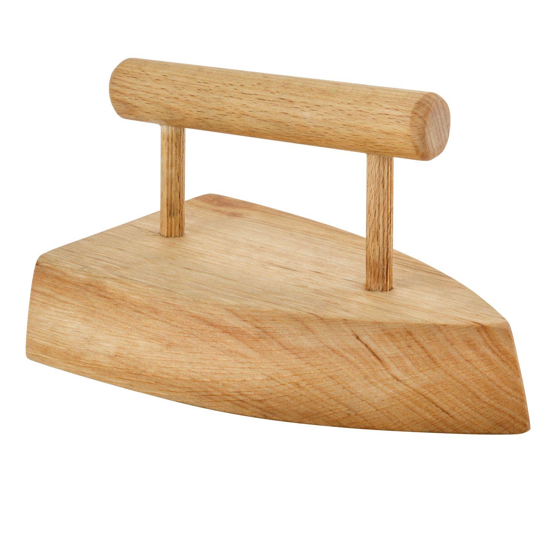Bügeleisen aus Holz