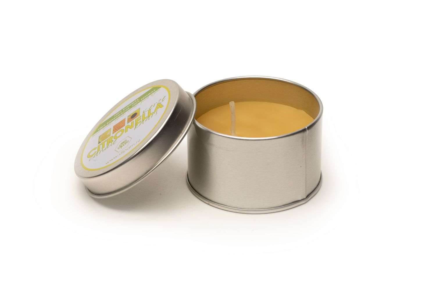 Citronella Beeswax Candle in a Tin
