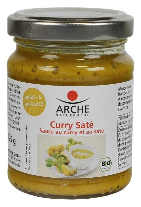 Curry-Saté Würz- und Dipsauce