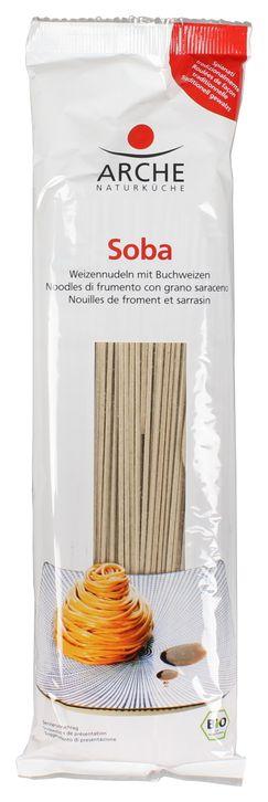 Soba, Weizennudeln mit Buchweizen