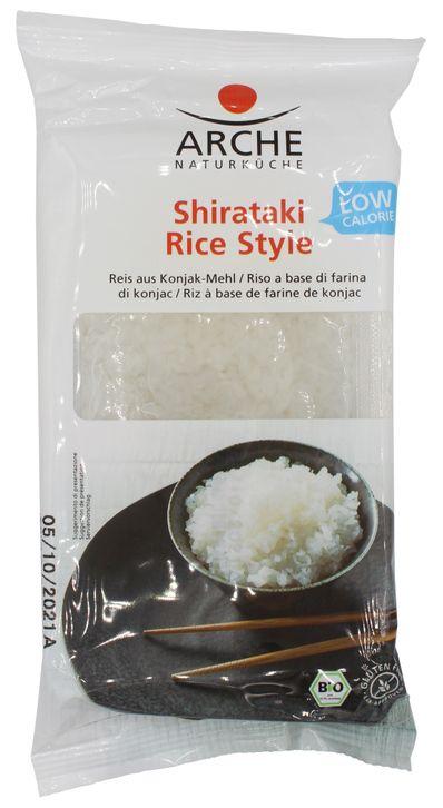 Shirataki Rice Style