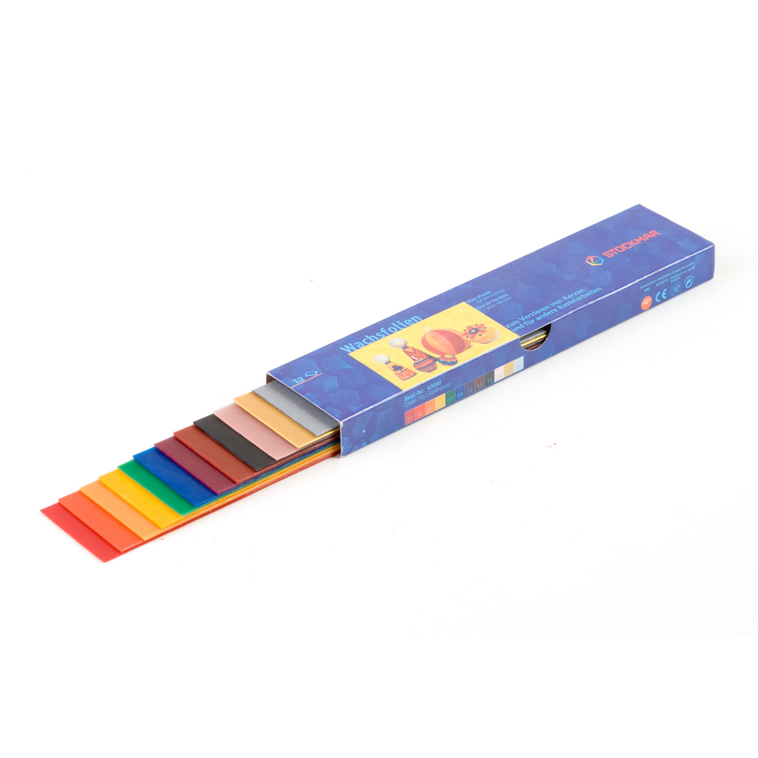 Stockmar Decorating Wax Small 12 Colours