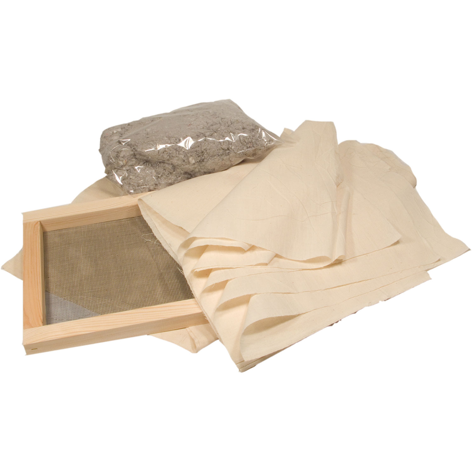 Kit for making your own Paper