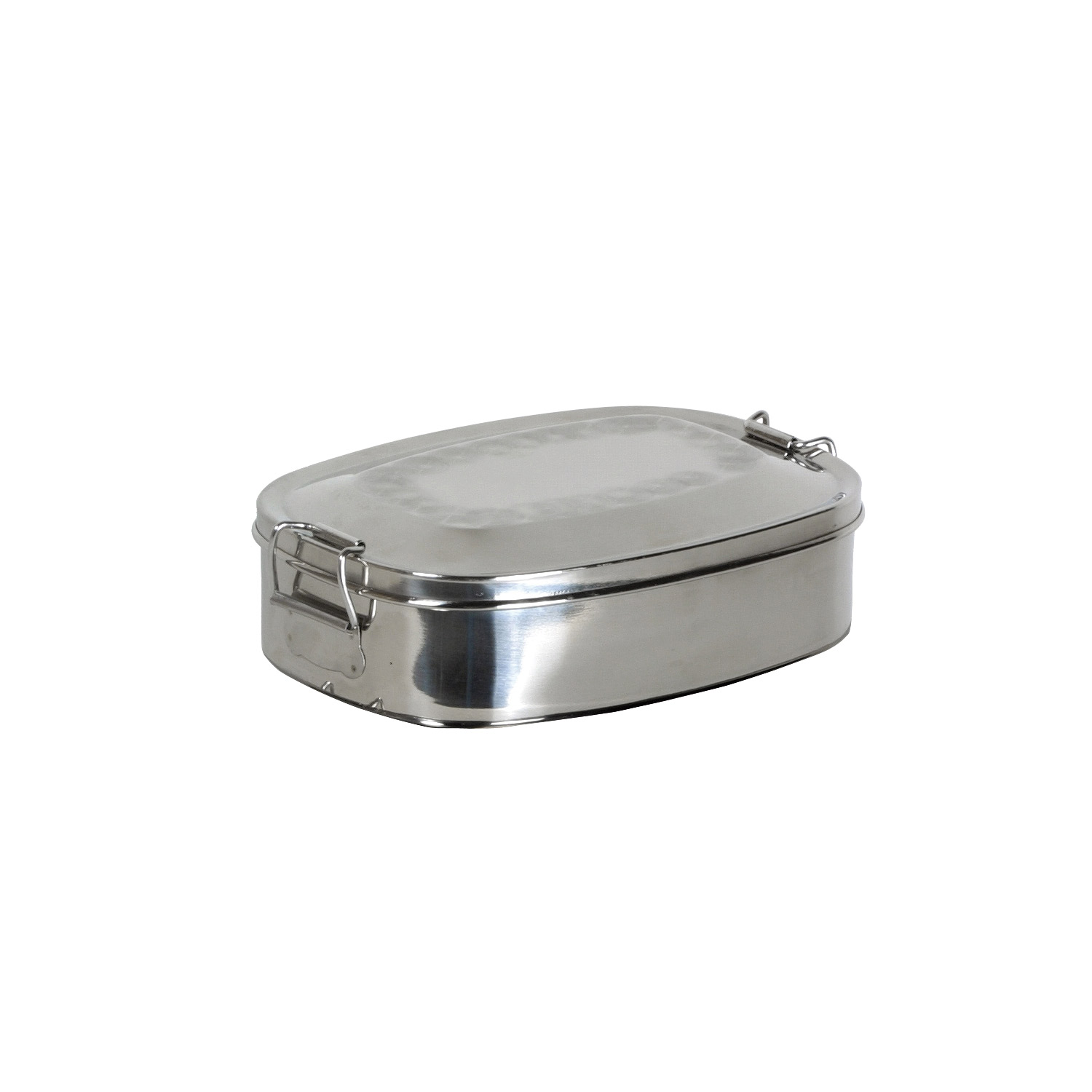 Oval Lunch Box made of Stainless Steel