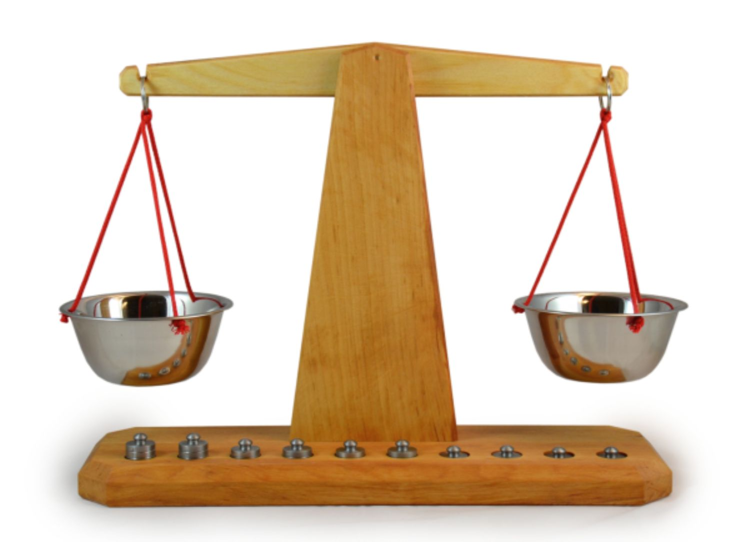 Scale with Ten Weights