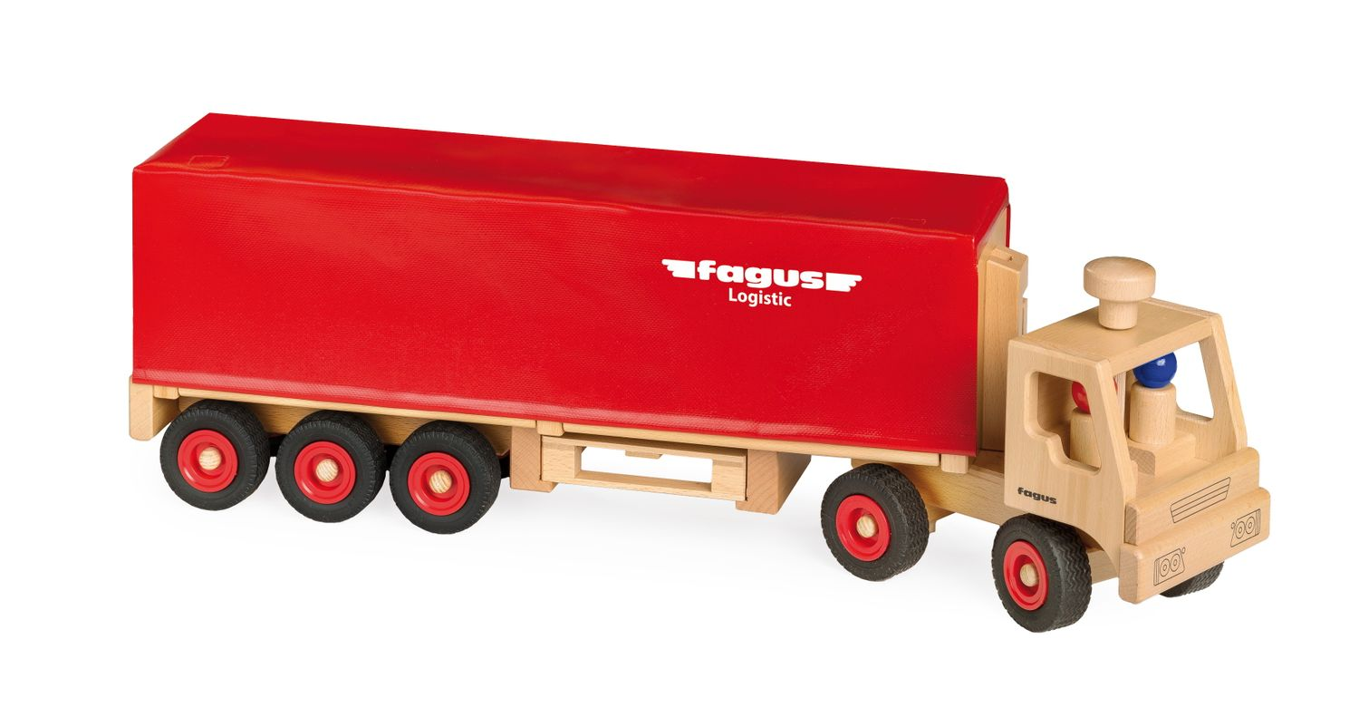 Fagus Truck with Trailer