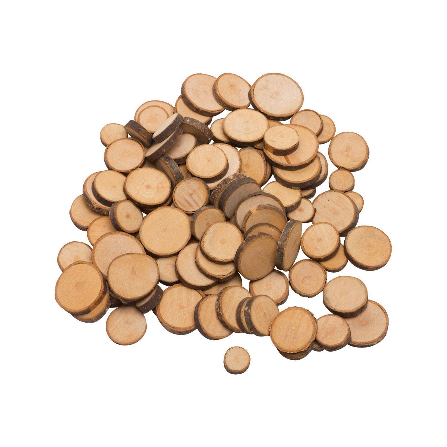 Wooden Play Money made of Sliced Birch Branches