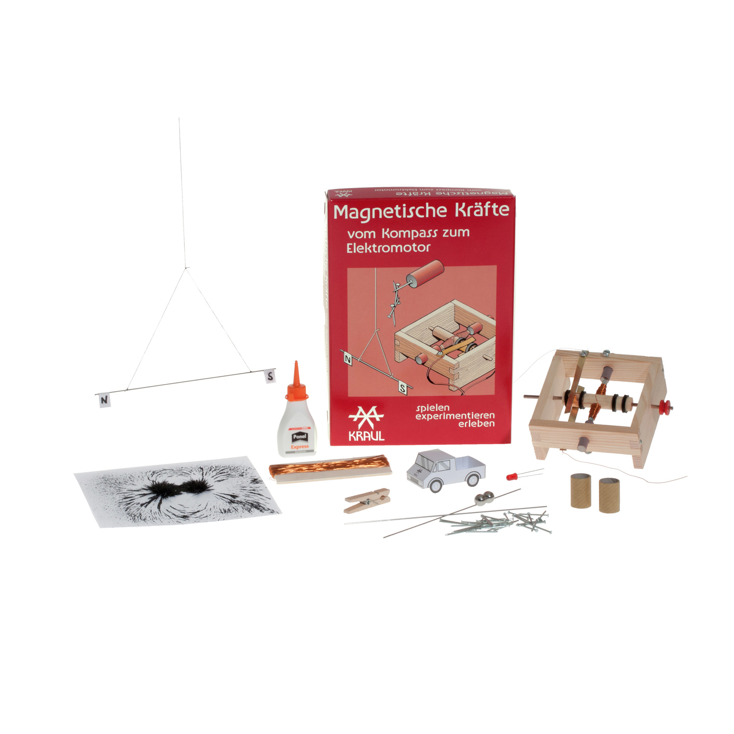 Magnetic Forces Experiment Box
