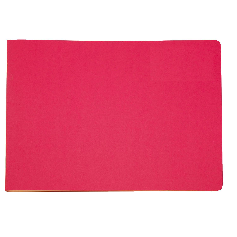 Sketchbook A4 Landscape, Red