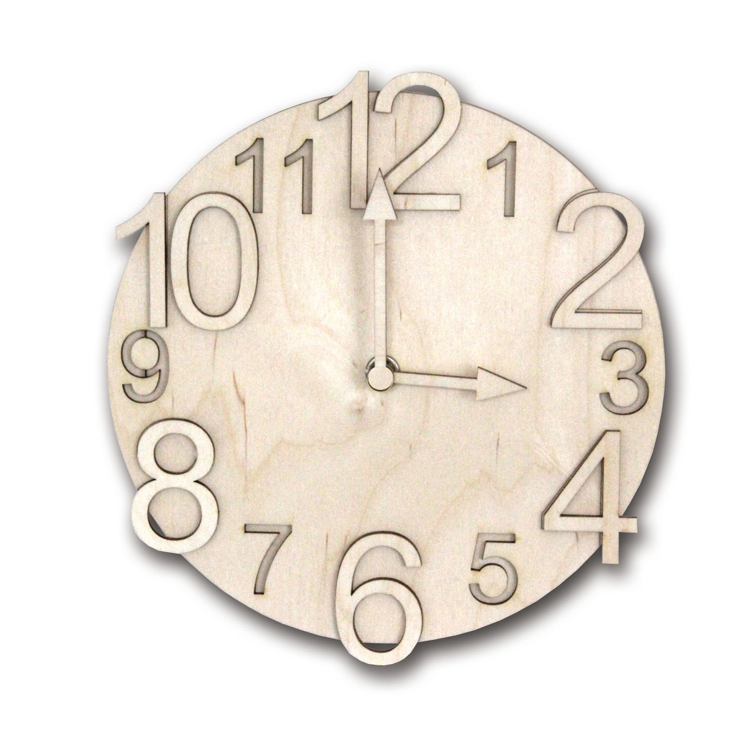 Kit to make your own Wooden Wall Clock