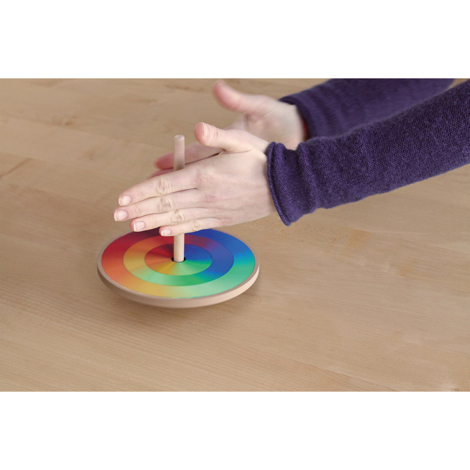 Grimm's Kit to make your own Goethe's Colour Circle Spinning Top