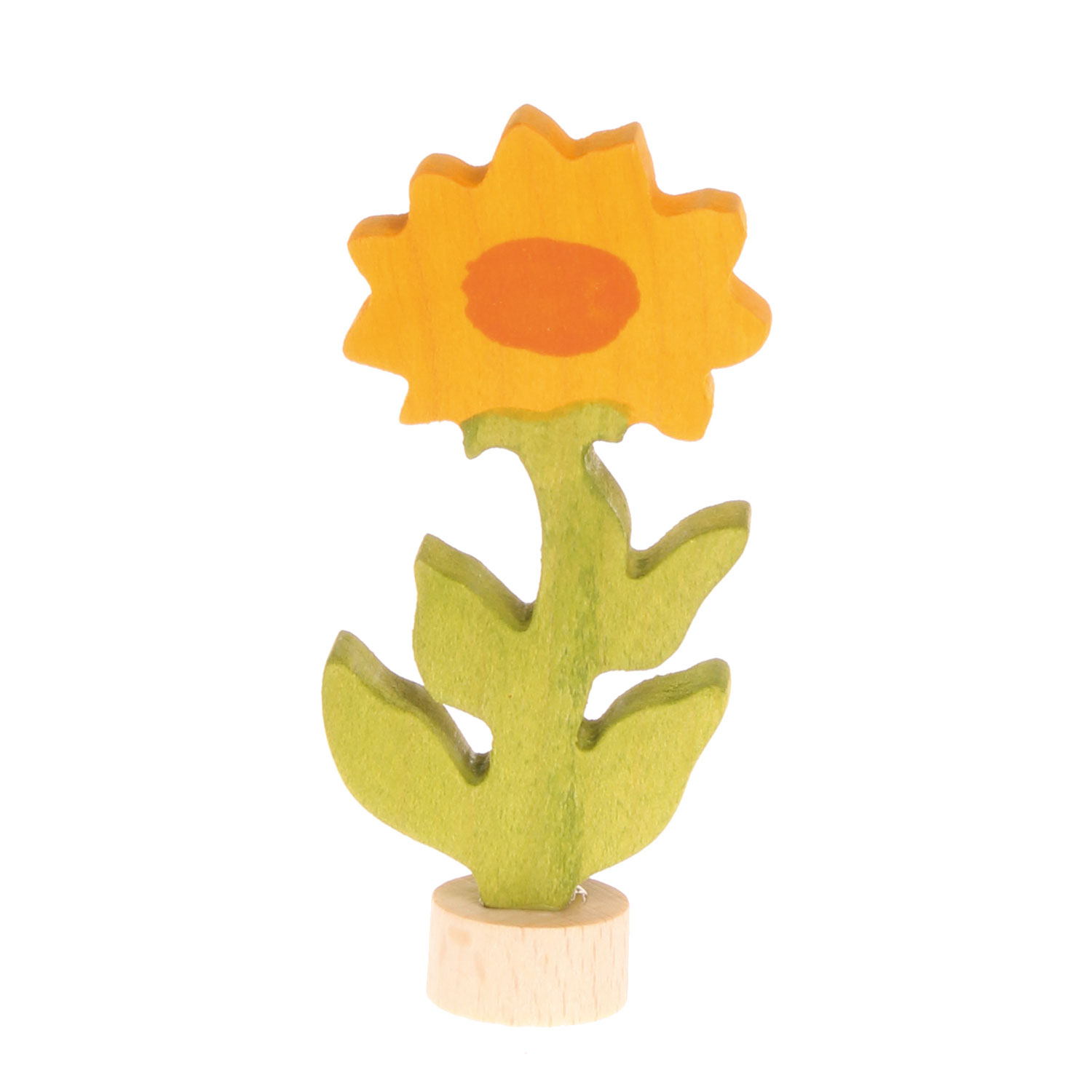 Grimm's Decorative Figure for Birthday Ring Marigold