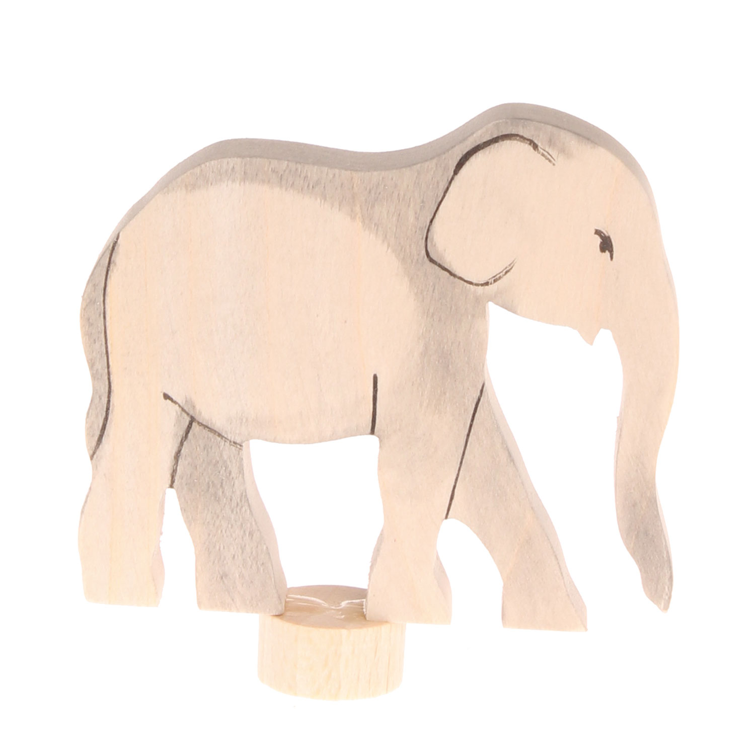 Grimm's Decorative Figure  for Birthday Ring Elephant