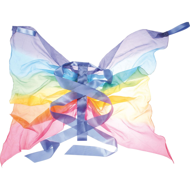 Sarah`s Silks Seidenflügel Regenbogen
