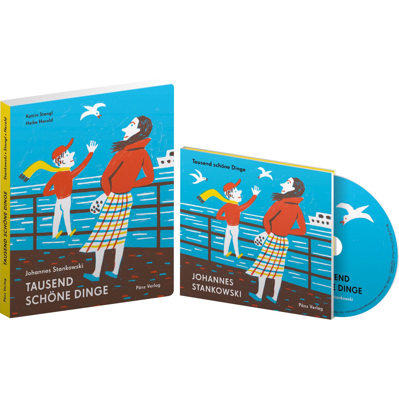 Buch und CD: 1000 schöne Dinge