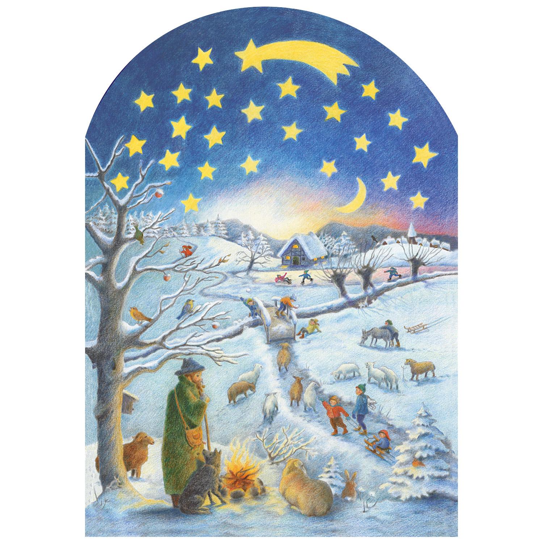 Adventskalender: Winterszene