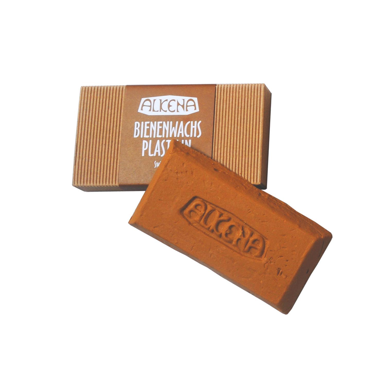 Alkena Beeswax Plasticine Brown