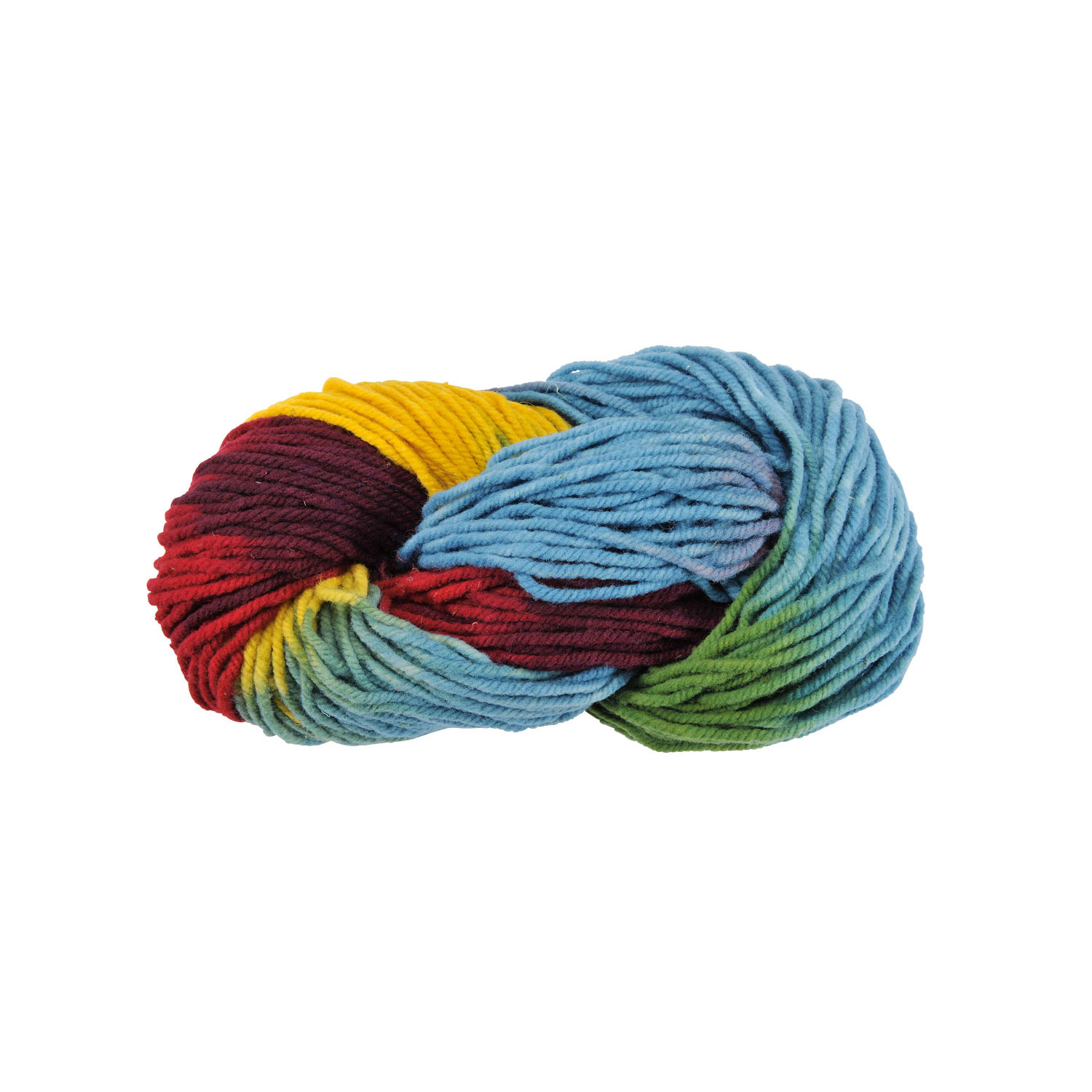 Filges Multicoloured Plant-dyed Wool for Knitting Needle size 5