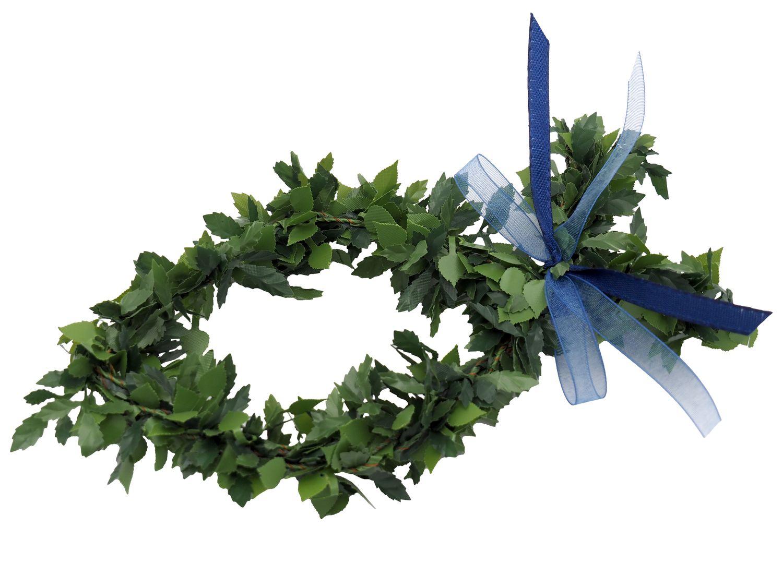 5 Fische Rosenblatt Blau Steudeko Kommunion Konfirmation Taufe Tischdeko Blattgirlande