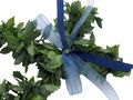 5 Fische Rosenblatt Blau Steudeko Kommunion Konfirmation Taufe Tischdeko Blattgirlande 2