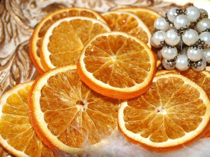 Orangenscheiben Getrocknet Basteln Weihnachten Weihnachtsdeko