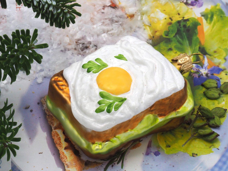 Sandwich Toast Christbaumschmuck Weihnachten Deko Weihnachtskugel