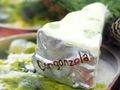 2x Käse Gorgonzola Silber Christbaumschmuck Baumschmuck Weihnachten Weihnachtskugel  9