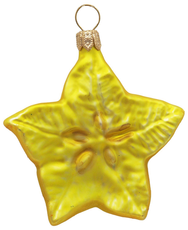 Sternfrucht Karambola Christbaumschmuck Baumschmuck Weihnachten Deko