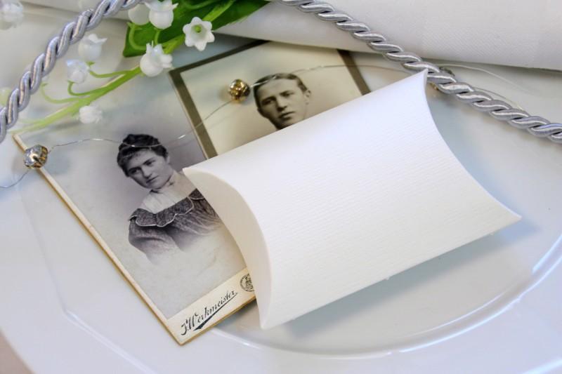 10 Kartonagen Schachteln für Gastgeschenke Hochzeit Kommunion Taufe Konfirmation Basteln