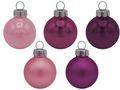 45 Weihnachtskugeln Christbaumkugeln Rosa Pink Lila Beere Christbaumschmuck Weihnachtsdeko Weihnachten Deko 1