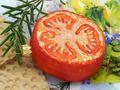 Tomatenscheibe Glas Christbaumschmuck Baumschmuck Weihnachten Weihnachtskugel 6