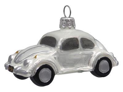 Auto Glas Weiß Christbaumschmuck
