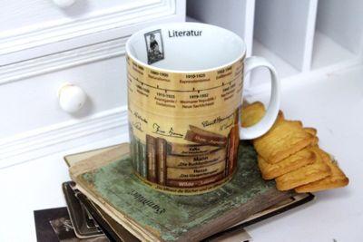Becher Literatur Tasse Kaffeetasse