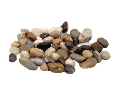 500g Streudeko Steine Kieselsteine Flusskiesel
