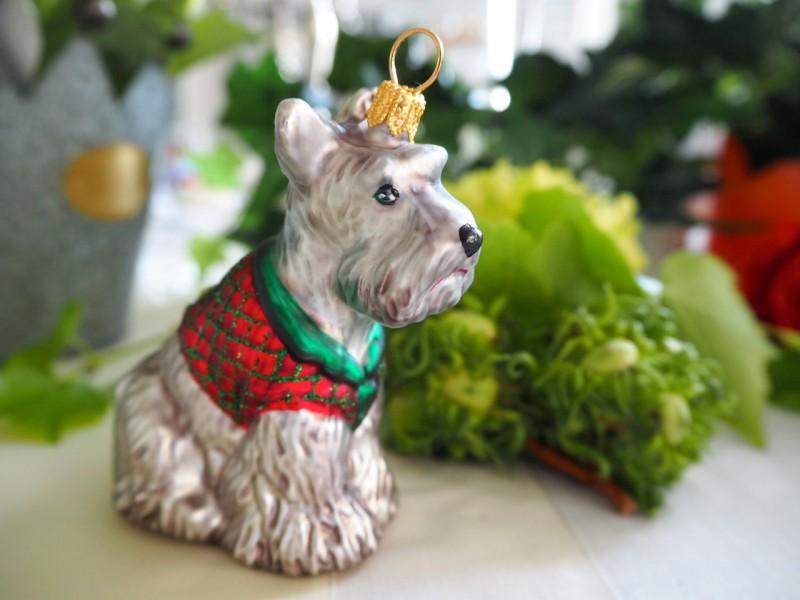 Scottish Terrier Hund Christbaumschmuck Weihnachten Baumschmuck