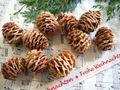 200g Zapfen Strictum Natur Deko Tischdeko Weihnachten Adventskranz Basteln 5