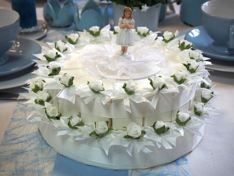 36 Gastgeschenke Torte Wei Kommunion Konfirmation