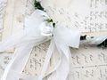 Haarschmuck Haarkranz Weiß Kopfschmuck Hochzeit Kommunion Taufe Blumenkind 3