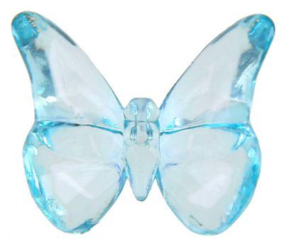 50 Schmetterlinge Acryl Blau Türkis